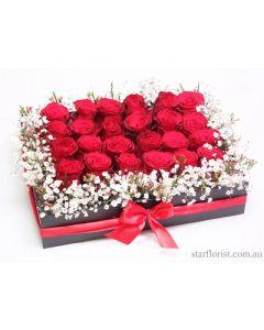 24 Melti Roses Cube
