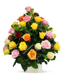 30 Mixed Coloured Roses SPECIAL