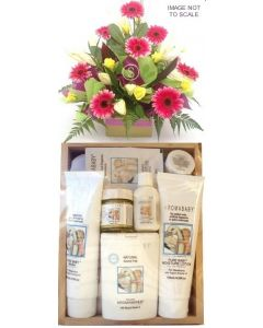 Aromababy Large Gift Set Girl with Flowers