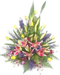Bright Assorted Flower Arrangement