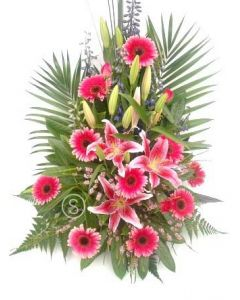 Hot Pink Flowers Deluxe