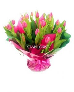 Tulip Bouquet Arrangement in Box
