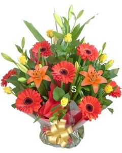 Assorted Flowers for Baby Boy