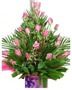 Baby Girl Assorted Pink Roses