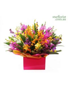 Medium Orchid Flower Arrangement