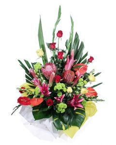 Large Assorted Flowers Gift Box