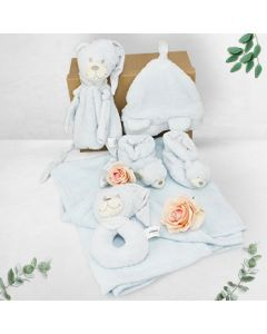 BABY BOY COSY HAMPER