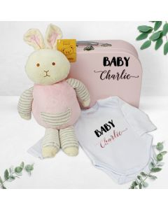 Personalised Baby Girl First Suitcase