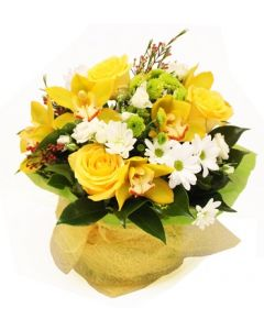Bright Yellow Posy