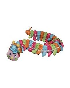 Caterpillar in dot pink