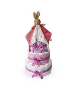Flopsy Bunny Nappy Cake