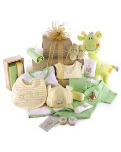 Large Baby Gift Set in Pastels