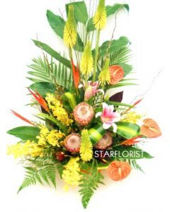 Modern Floral Arrangement - Melbourne Florists