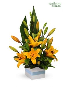 Bright Liliums Arrangement