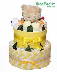 Baby Neutral Nappy Cake
