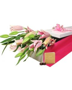 Mothers Day Oriential Lilies Box