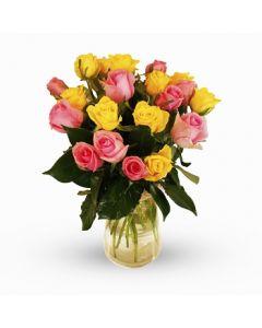 Rosaline - 20 Medium Mixed Roses