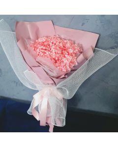 Preserved Hydrangea Bouquet- Pink