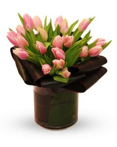 Tulips Delight - vase included