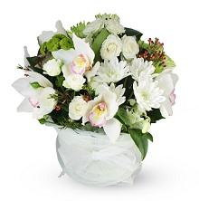 White Flower Posy