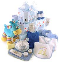 Baby Boy Gift Set with Aromababy Kit