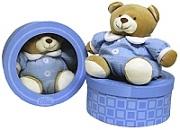 Blue Nuzzle Bear in Box