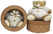 Cream Nuzzle Bear in Box